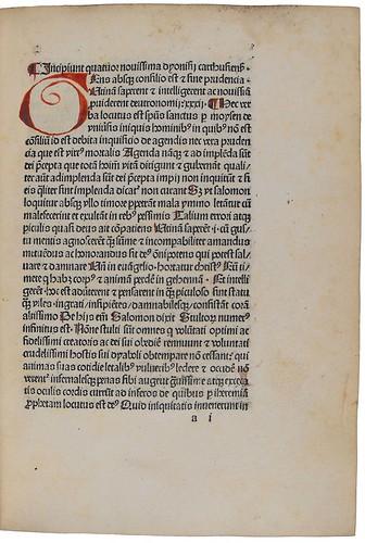 Rubrication in Dionysius Carthusiensis: De quattuor novissimis
