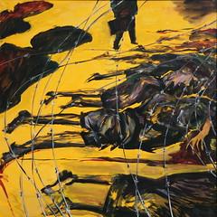 Jorge Rando África óleo sobre tabla   122x122 cm 1990 (arteneoexpresionista) Tags: rando jorge áfrica