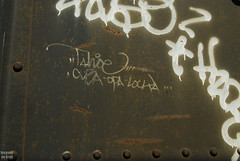 Tahoe (Stalkin The Lines) Tags: cars car metal yard train graffiti streak florida steel tag tahoe railway trains tags traincar parked fl graff freight trainyard mul southflorida traincars freights trainart freightyard handstyle railart moniker benched benching benchingfreights benchingtrains focusedongraff