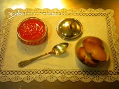 Mermelada de calabaza y pan tost 97
