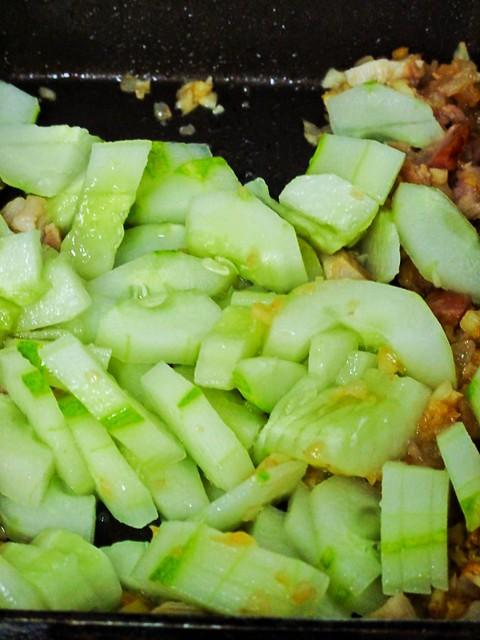 IMG_1057 炒黄瓜,fried cucumber