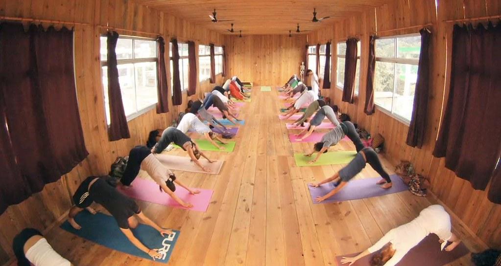 200 hr. yoga teacher training registered with Yoga Alliance in Rishikesh, India.