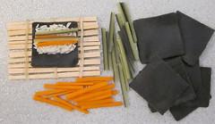 A few sushi ingredients