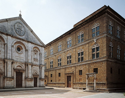 pienza centro historico