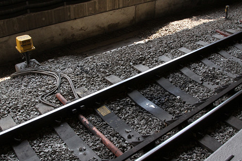 Axle counters on the East Rail line