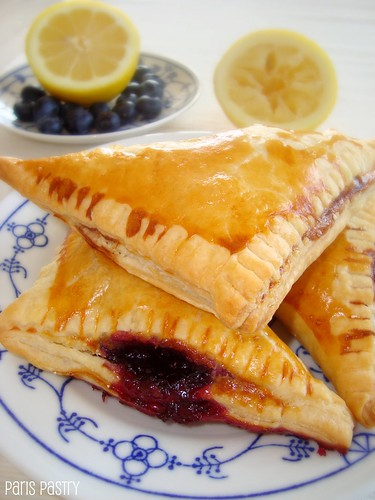 Lemon Blueberry Turnovers