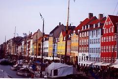 Nyhavn harbour, Copenhagen (ClareyConnolly) Tags: copenhagen denmark boats nyhavn march harbour