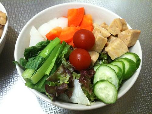 朝食サラダ(2011/3/16)