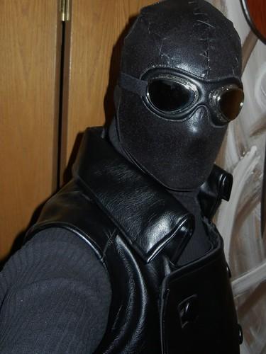 Spider man noir mask
