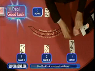 Live Blackjack TV