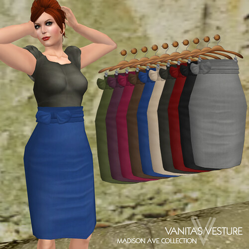 Vanitas Vesture - Meticulous Pencil Skirt