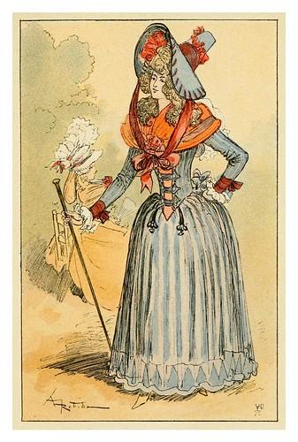 020-Paseo por Paris en 1790-Mesdames nos aieules dix siecles d'elegances 1800- Albert Robida