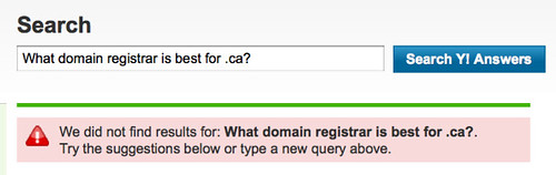 We did not find results for: What domain registrar is best for .ca?.