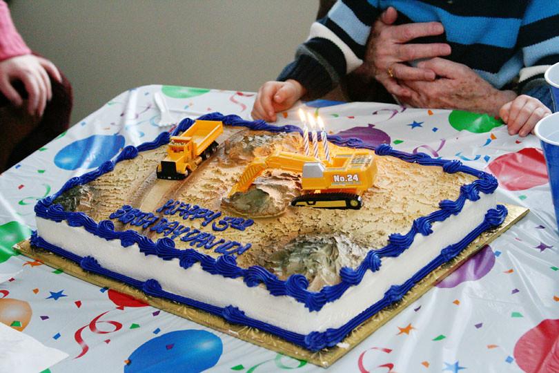 David's 3rd Birthday