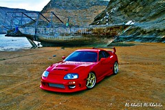 D3V!L BLo0D  The Middle-East Supra (AL-KhaLiL AL-KhaLiLi) Tags: red model side rear wheels wing front bumper toyota 1998 rays custom modification bonnet oman skirts volk gts supra trd topsecret alkhalil abflug gagues alkhalili 19inch deefi