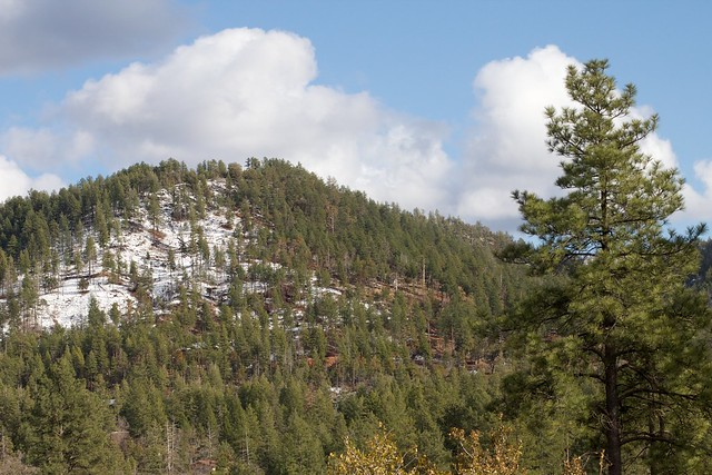 Snow on Strawberry Mountain