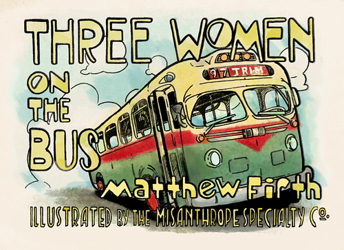 "Illustration for ""Three Women on the Bus"""