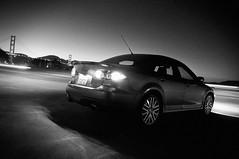 MazdaSpeed6 in SF B/W (RyzeFoto) Tags: sanfrancisco bridge blackandwhite bw ed nikon goldengate if nikkor mazda 1870mm afs dx mazdaspeed6 d90 f3545