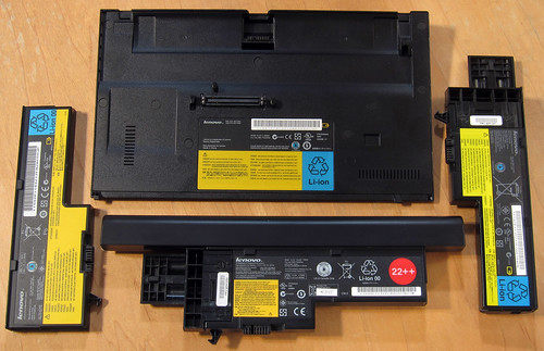 Batteries for ThinkPad X6x