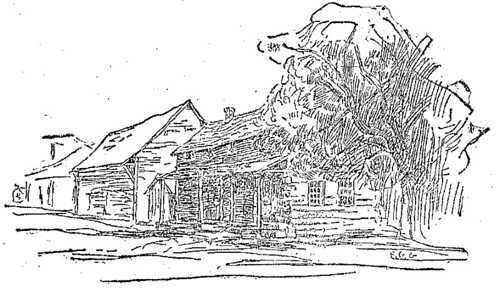 A Typical Zoar Cottage by F.C. Gottwald