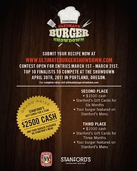 Ultimate Burger Showdown flyer