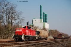 294 831-3 Railion (vsoe) Tags: germany deutschland nrw duisburg industrie ruhrgebiet hkm mak railion 294 rangierfahrt wannheim