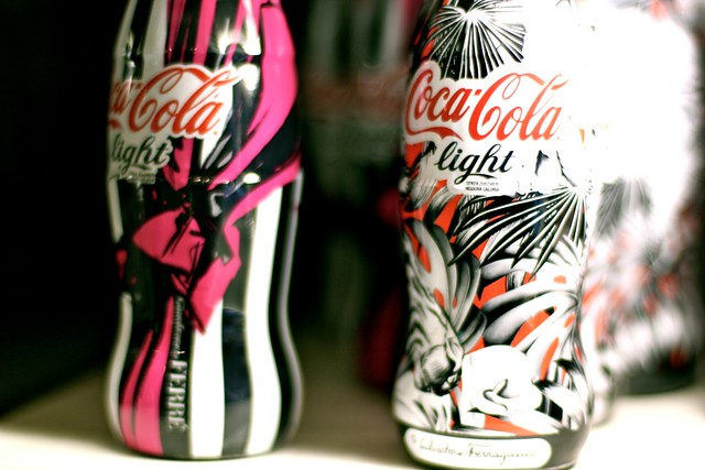 Prettiest Coke Bottles!