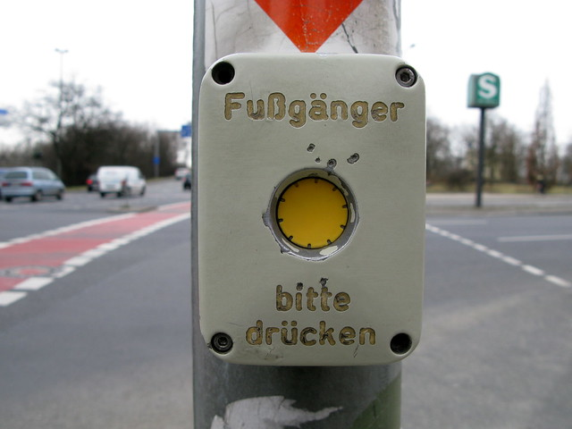 Pedestrian Crossing Button