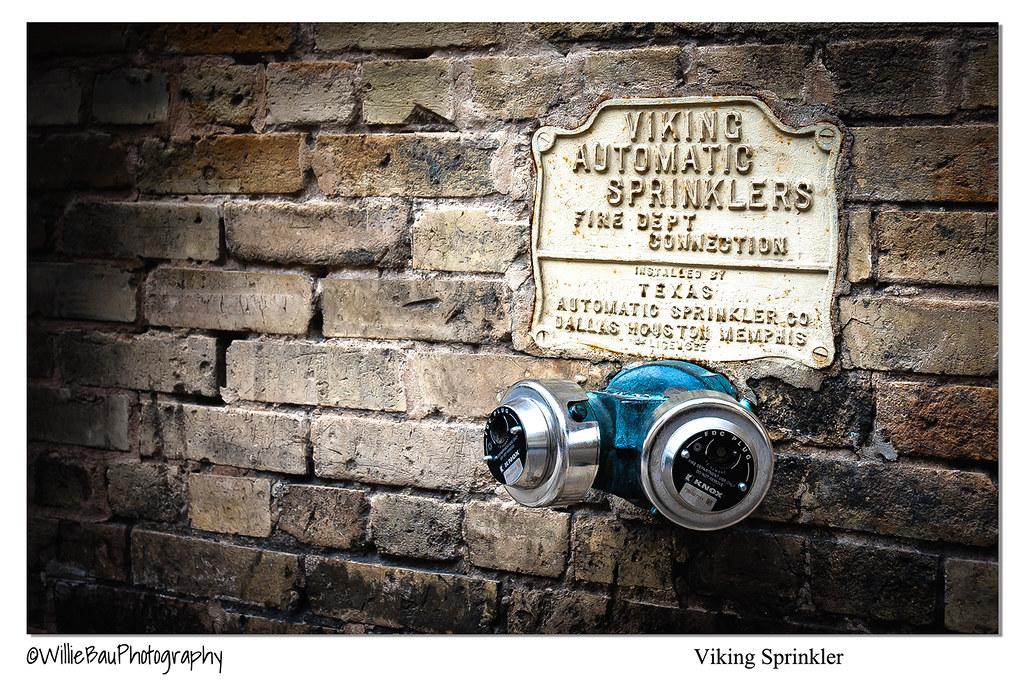 Viking Sprinkler.