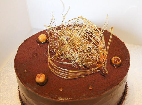 Chocolate Butterscotch Cake-13