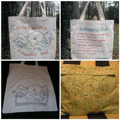 March Stitch Along - fantastic bags