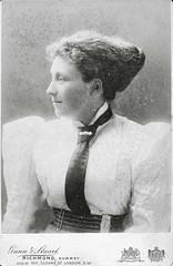 Sexy Edwardian Lady (vintage ladies) Tags: woman sexy girl lady vintage belt tie blouse milf edwardian