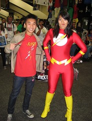 Flashness (Roxanna Meta) Tags: comics dc costume comic cosplay flash wondercon wondercon2011