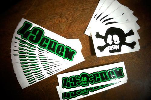 49crew sticker