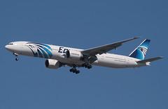 Egypair, Boeing 777 (777-300), SU-GDO, at JFK, New York, USA. April 201