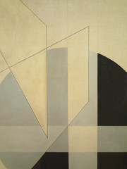 Moholy-Nagy, Composition A.XX detail, lower right