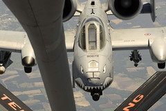 Taking on fuel (Official U.S. Air Force) Tags: airforce a10 airnationalguard mcgheetyson moodyafb tennesseenationalguard 134arw refuelingmission
