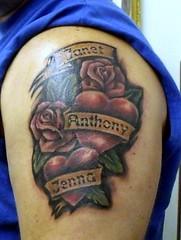 Roses Heart Tattoos On Shoulder 049 (tattoos_addict) Tags: roses heart tattoos shoulder 049 skulltattoos hearttattoos keytattoos