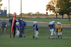 1365 (bubbaonthenet) Tags: 09292016 game stma community 4th grade youth football team 2 5 education tackle 4 blue vs 3 gold