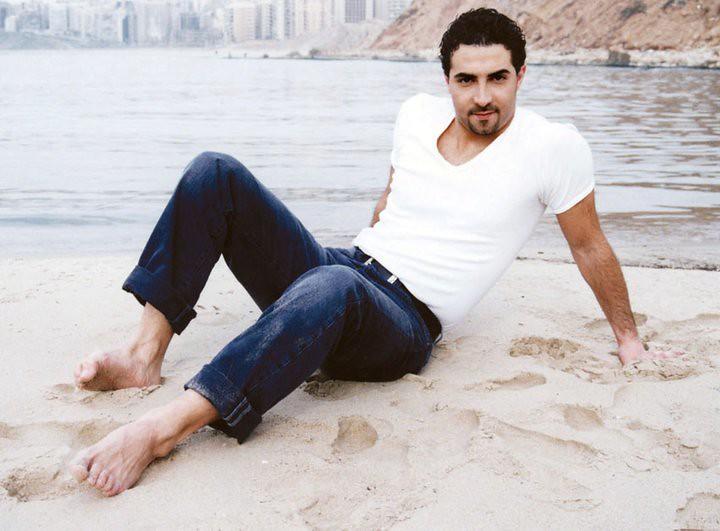 Arab men feet