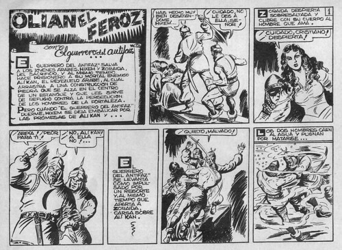 011-El Guerrero del antifaz nº 8 primera edicion-1ª pagina