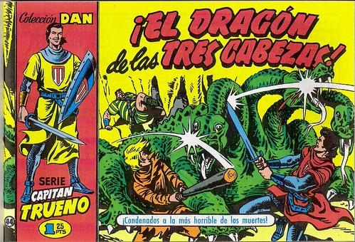 034-El Capitan Trueno nº 44-portada-1956