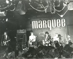 The Chords - Marquee Club London, 1979 - Soho (Paul-M-Wright) Tags: london concert soho gig group band 1979 westend mods marqueeclub wardourstreet paulwright modrevival thechords billyhassett