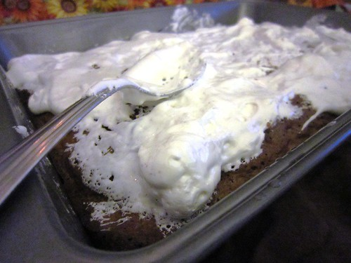 Marshmallow tops brownie