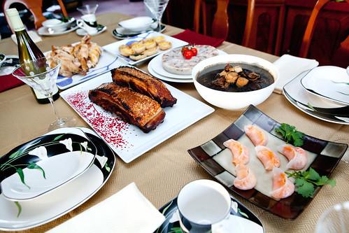 A big feast