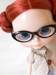 My sweet little nerd girl