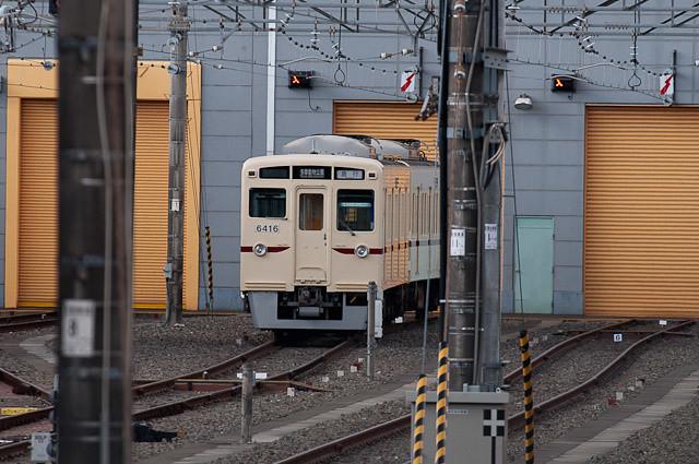 京王電鉄6000系 6416F 動物急行