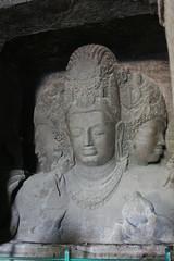 Shiva Bust, Elephanta Island