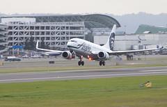 Alaska Airlines B737 (jbself20) Tags: oregon pdx boeing alaskaairlines b737 kpdx n615as