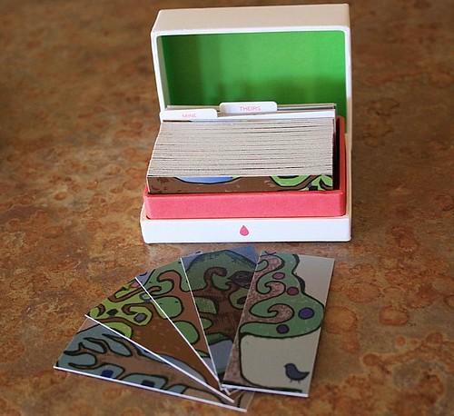 mini moo cards